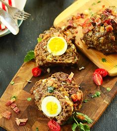 German immigrants brought meatloaf with them to Southern Brazil where it was adapted to include a hardboiled egg stuffed inside. Get the recipe here.
