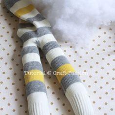 Sew | Sock Monkey | Free Pattern & Tutorial at CraftPassion.com - Part 2