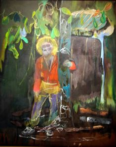Stag Peter Doig Oil on canvas 250 x 200 cm Collection of Martin and Rebecca Eisenberg Peter Doig, Cool Paintings, Cool Artwork, Landscape Paintings, Beaux Arts Architecture, Neo Dada, Canvas Art, Canvas Prints, Of Montreal