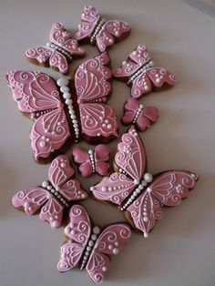 Be happy with who you are. Summer Cookies, Fancy Cookies, Iced Cookies, Cute Cookies, Easter Cookies, Cupcake Cookies, Christmas Cookies, Butterfly Cookies, Flower Cookies
