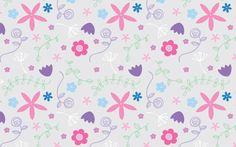 Pretty ditsy floral pattern
