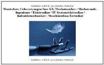 CD-ROM Wortschatz-Uebersetzungen (60000 Fachbegriffe) fuer Kfz-Mechatroniker / Mechatronik-Ingenieure / Elektroniker / IT-Systemelektroniker / Industriemechaniker / Maschinenbau-Techniker/deutsch-engl.; engl.-deutsch