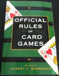 Official Rules of Card Games by Albert H. Morehead (1996, Paperback)