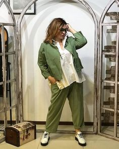 Sport Casual, Comfortable Fashion, Trendy Plus Size, Plus Size Fashion, Khaki Pants, Boho, Womens Fashion, Comfort Style, Natural