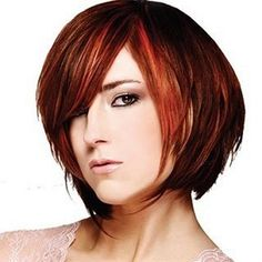 Hair Color : Layered Bob Hairstyles With Side Bangs For Straight Hair And Mahogany Henna Hair Dye With Highlights For Women With Round Faces The Mahogany Henna Hair Dye Henna Hair Color For Natural Hair. Mahogany Auburn Hair Color. Henna Hair Dye Colors.