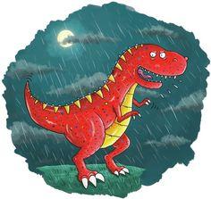 T Rex in the Rain