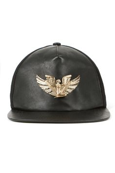Givenchy Brimless Leather Snapback Cap Who Needs A Brim