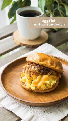Vegetarian Breakfast, Vegetarian Recipes, Cooking Recipes, Healthy Recipes, Brunch Recipes, Breakfast Recipes, Breakfast Sandwich Recipes, Foodblogger, Food Inspiration
