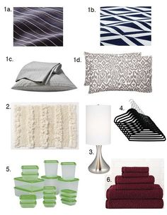 10 Must-Have Dorm Room Essentials — Back to School 2012