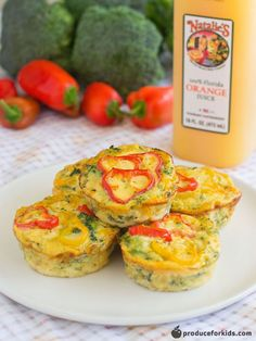 Broccoli & Cheese Crustless Quiches