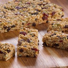 Try this Granola Bars recipe by Chef Anna Olson. This recipe is from the show Bake With Anna.