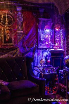 I Love These Hallowe I Love These Halloween Decorating Ideas That Will  Transform Your Living Room Into A Spooky Haunted House.