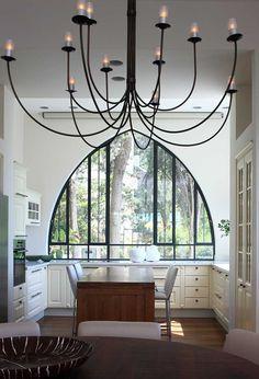 בסגנון טורקי: דירה ישנה ומשופצת על הכרמל | בניין ודיור  חלון + וילון