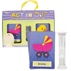 Act It Out Baby Shower Game