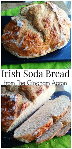 Irish Soda Bread- no yeast & no kneading! Delicious and hearty and perfect for St. Patrick's Day!