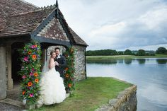 There could not be a more romantic place to marry in Spring than Pentillie Castle, Cornwall. Marry under the enchanting wisteria pavilion, have your drinks reception on the terrace with far reaching views over Dartmoor and the River Tamar. www.pentillie.co.uk 01579 350044