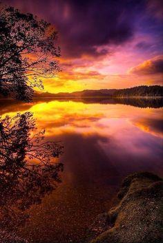 Twitter / Earth_Pics: Scotland Sunrise ...