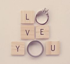wedding rings photo idea :)
