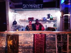 SkyMarket London - rooftop marketplace with food