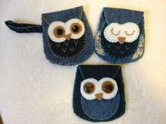 This cute owl coin purse will keep your change or what ever else you would like to put in it, handy and tidy while making you smile every