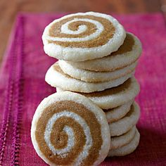 Ginger-Lemon Pinwheel Cookies from MyRecipes.com