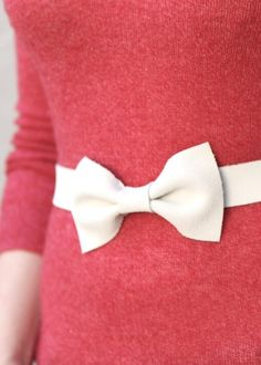 bow belt!