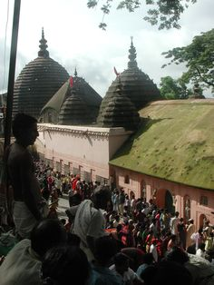 The main temple of Maa Kamakhya outside Guwahati, Assam (India).