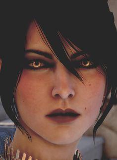 I love Morrigan's eyes so much.