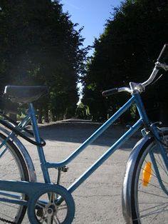 My bike in Augarten (Vienna) Vienna, About Me Blog, Bicycle, Bicycle Kick, Bike, Trial Bike, Bicycles