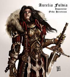 Inquisitor Aurelia Fulvia by Vanagandr on DeviantArt