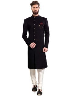 Shop Indo western garments for men online from store. Buy stylish indo-western sherwani dresses, party wear indowestern, Festival wear outfits, contemporary wear, Reception wear designer Indo western outfits for men. Mens Wedding Wear Indian, Sherwani For Men Wedding, Wedding Dresses Men Indian, Mens Sherwani, Sherwani Groom, Indian Groom Wear, Wedding Dress Men, Wedding Men, Indian Dresses