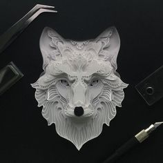 This is an on-going series on my instagram account, that explores the animal form in delicate execution. I want to provide a contrast of soft materials to a predator.  I also want to venture more on the endangered species in the future, and hopefully show how fragile some species are and how close they are to extinction.