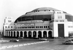 The old Saint Louis Blues Hockey Arena. Good times!