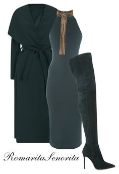 """""""Chic"""" by romaritasenorita ❤ liked on Polyvore featuring Torn by Ronny Kobo and Gianvito Rossi"""