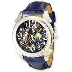 Ed Hardy Revolution Blue Watch