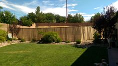 How to hide an ugly yard with a burlap curtain screen wall