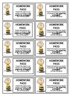 7 Best Homework Pass Images Classroom Organization Future