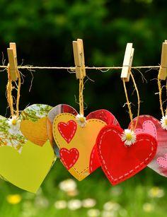 Individuelle Herzen selber machen – 8 tolle Ideen zum Valentinstag