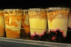 Sis. Deli´s takeaway yogurts. Healthy and yammy!  #food tour #Helsinki #Finnish food #Scandinavia #takeaway