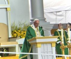 RETIRO DE DISCERNIMIENTO Y LA VISITA DEL PAPA FRANCISCO #famvin http://filles-de-la-charite.org/es/discernment-retreat-and-the-visit-of-pope-francis/