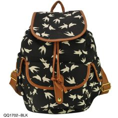 17.45 euro incl shipping 2013 New Arrival Animal Print 3 Colors Charming Backpack For Girl School Rucksack Shoulder Bags Promotion Free Shipping QQ1702-in Backpacks ...