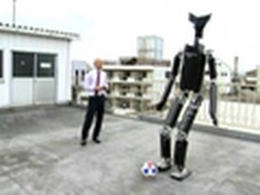 A researcher in Japan is working on a 13-foot robot with a built-in cockpit for humans. Can you imagine a life-size Gundam? Yikes.
