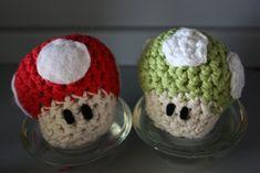 Super Mario sopp - lett (Den norske Amigurumi bloggen!)
