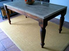 SO I FINALLY FINISHED MY DINING TABLE. IT TURNED OUT BEAUTIFUL! I LOVE IT. THE TABLE BASE IS A POTTERY BARN FARM TABLE. I BOUGHT IT OFF CRA...