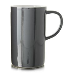 Tall Stoneware Mug: Studio.W