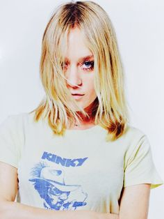 Chloe Sevigny in a graphic tee