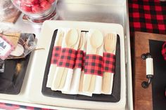 Lumberjack Baby Shower | CatchMyParty.com