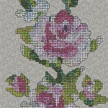Graham and Brown New Wave Wallpaper-Tapestry Rose Multi by Caroline Davidson 50-804