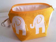 Wet Bag Elephants Multipurpose Pouch by LilTotWonder on Etsy, $12.50