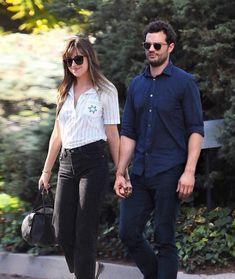 Fifty Shades Series, Fifty Shades Movie, Jamie Dornan And Wife, Dakota Johnson Hair, Anastasia Grey, Grey Pictures, Johnson Family, Mr Grey, Christian Grey